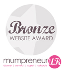 Mumpreneur UK, 2011 - Bronze Website Award
