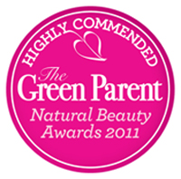 The Green Parent, 2011 Natural Beauty Awards - Commended