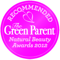 The Green Parent, 2012 Natural Beauty Awards - Recommended