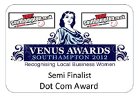 Venus Awards, 2012 - Semi Finalist, DotCom Award