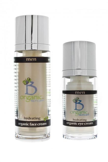Organic Eye and Face Cream Gift Set for Men