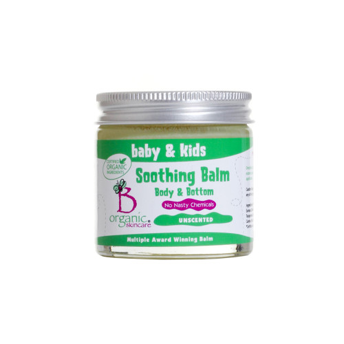Baby & Kids Organic Soothing Body & Bottom Balm Unscented 60ml