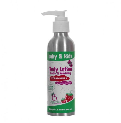 Baby & Kids Organic Strawberry Body Lotion