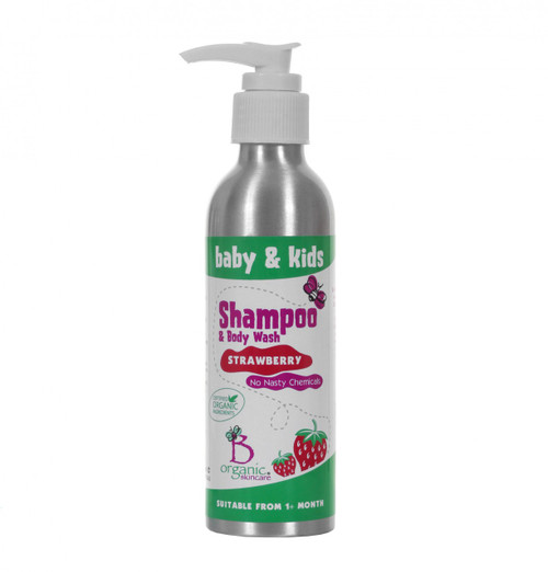 Baby & Kids Organic Strawberry Shampoo & Body Wash