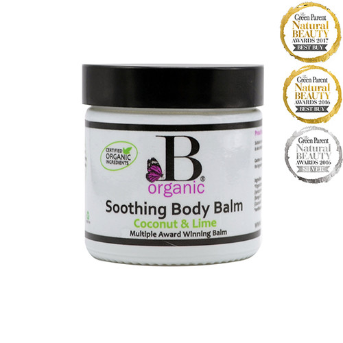 Organic Soothing Body Balm Coconut & Lime 60ml