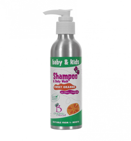 Baby & Kids Organic Sweet Orange Shampoo & Body Wash