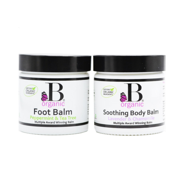 Foot Balm and Soothing Body Balm Duo