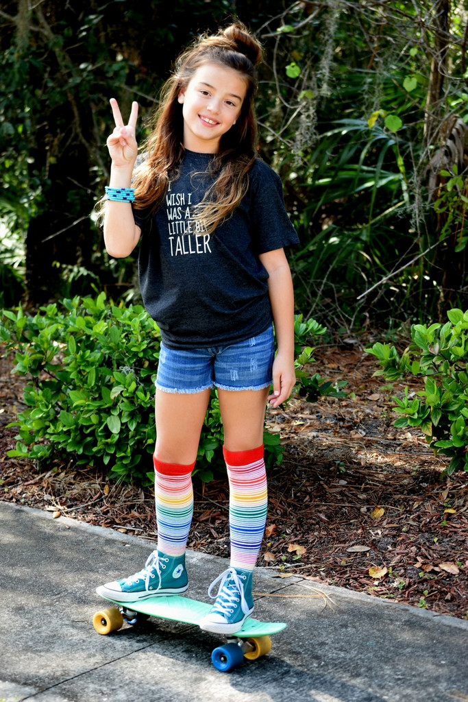 peace, love and livin the dream in my pride socks