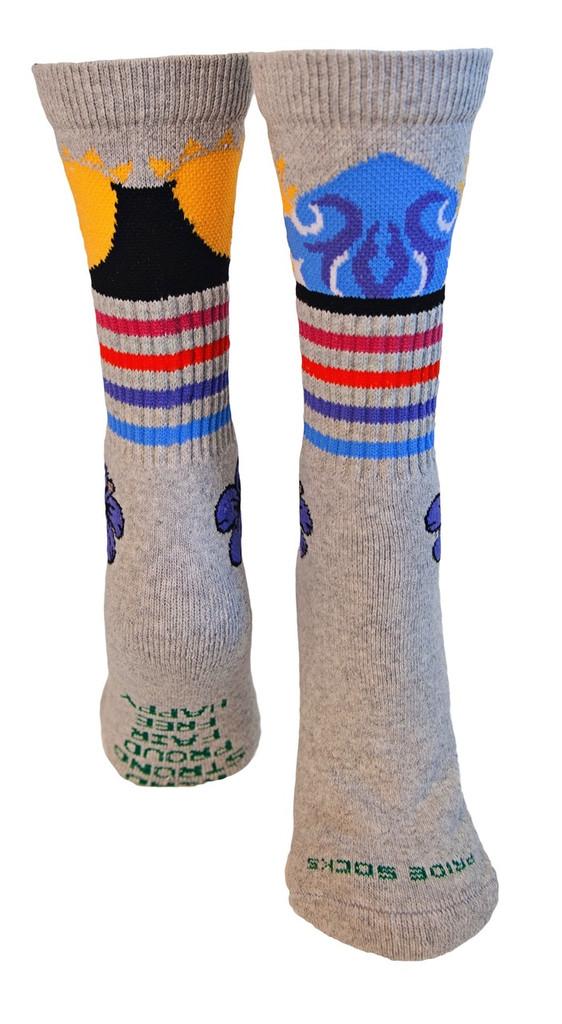 surf and skate tube socks
