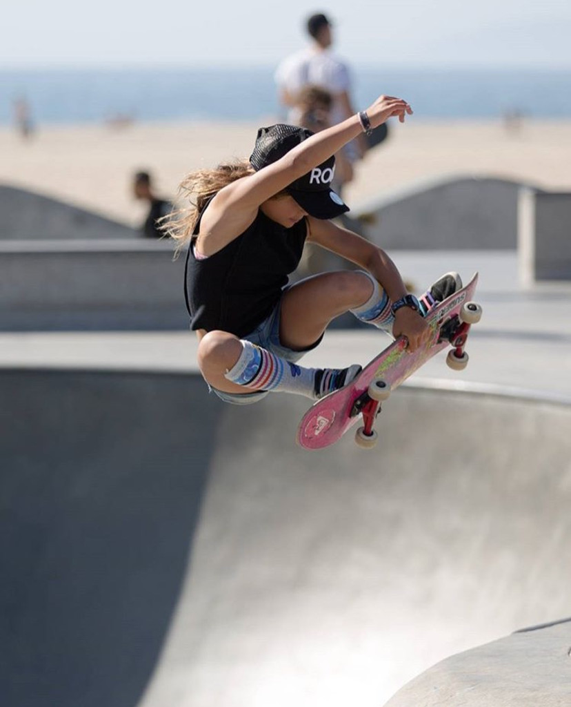 sky brown skating in her skys the limit socks