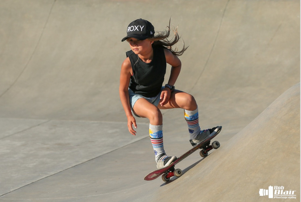 sky brown in her collaboration socks with pride socks named skys the limit