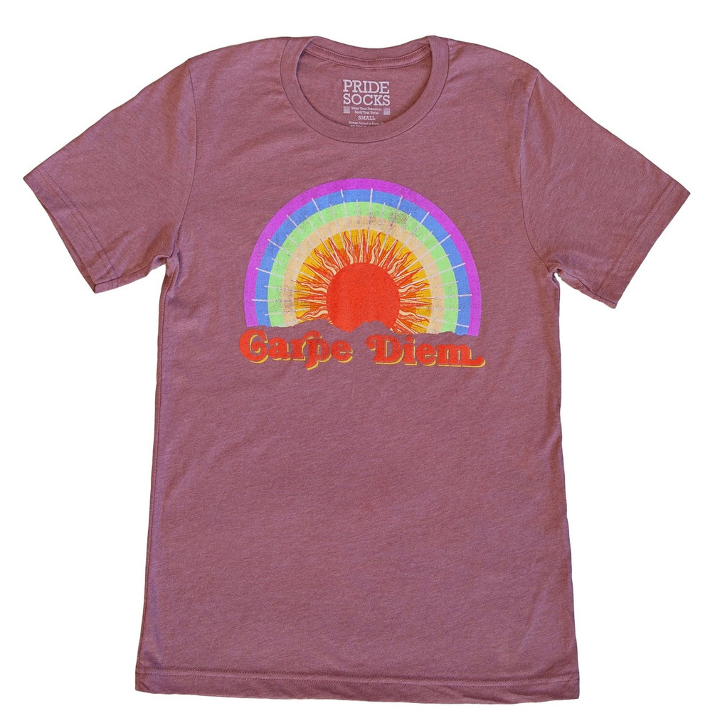 Seize your day with pride socks vintage tshirt.  how will you rock your pride socks carpe diem shirt?  in style?  of course you will.