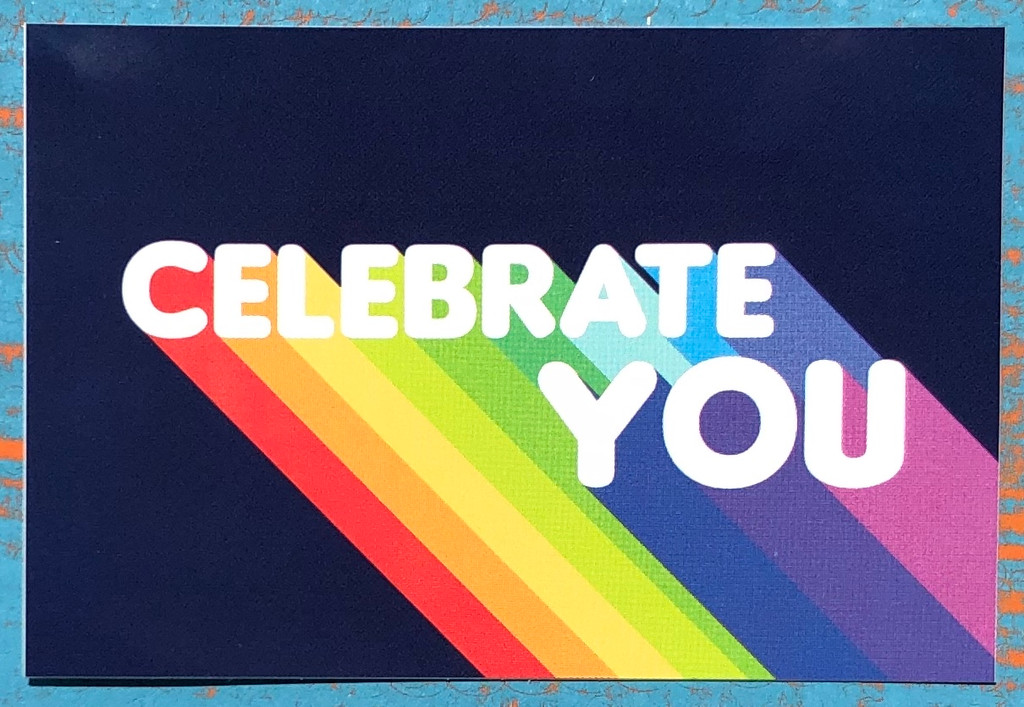 no better time than now to celebrate you.  use this pride socks sticker to help remind You to celebrate you.
