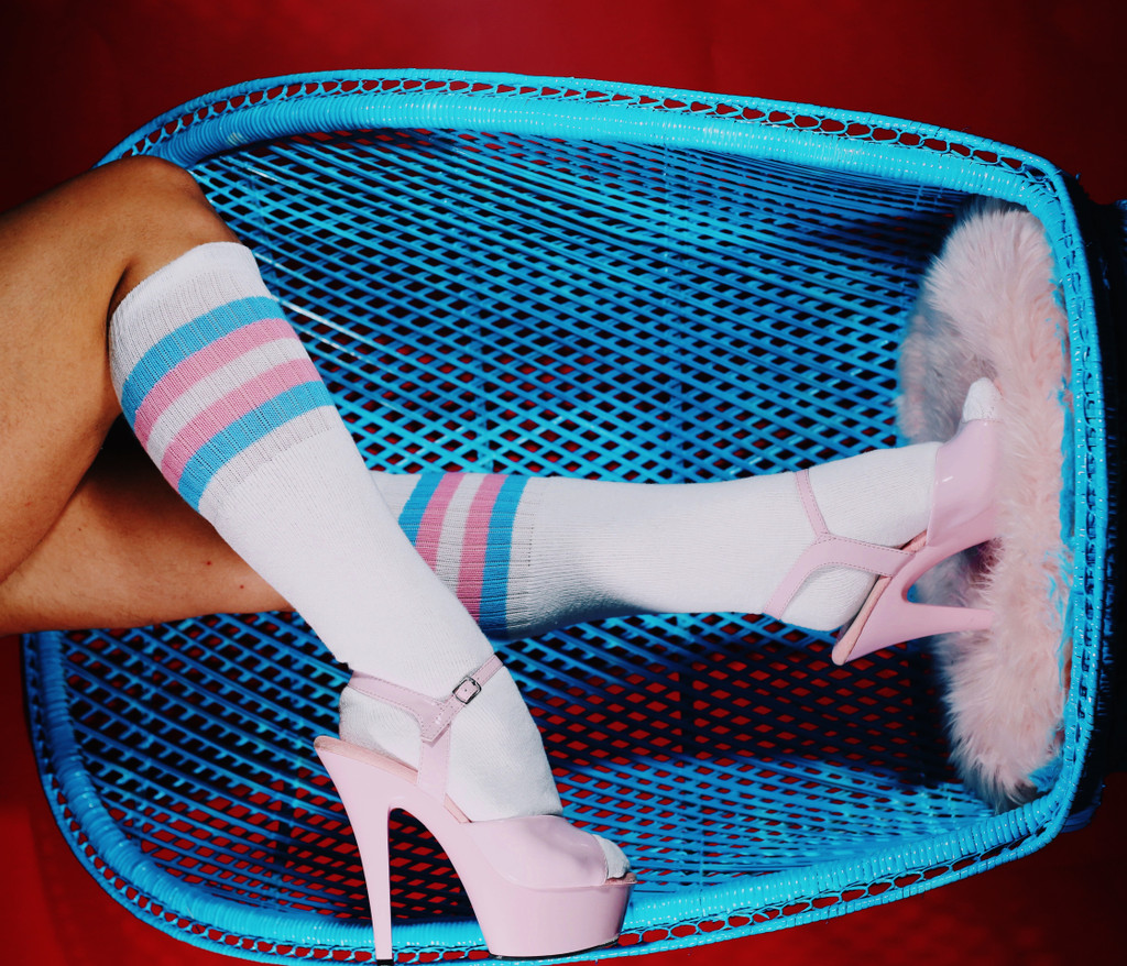 no matter how you identify, our transgender socks show our love and support to everyone, including allys