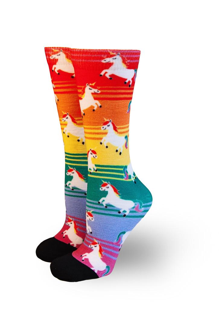 love rainbow unicorns and pride socks?  Get your latest pride socks limited edition unicorn socks today