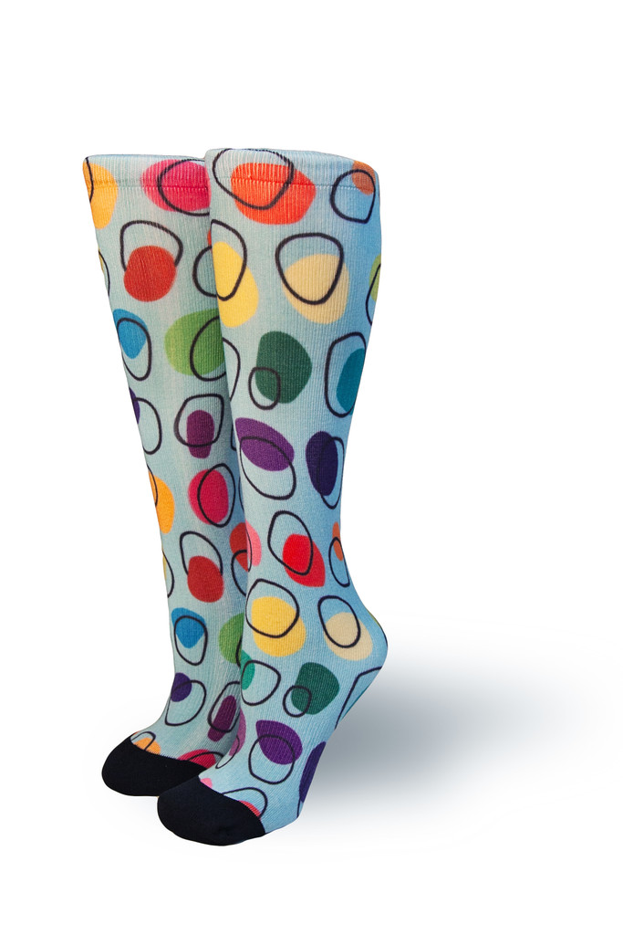 pride socks works with various artist to design a sock and create a wider community of artist and designers.