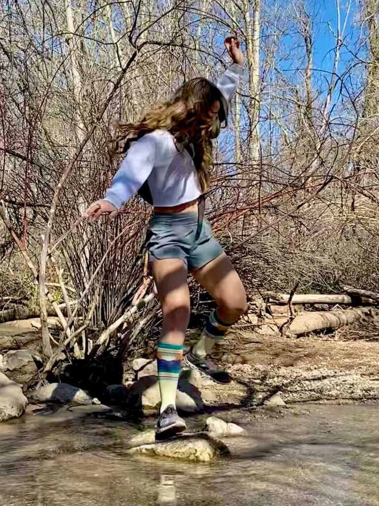 pride socks compression socks with melissa urban and whole 30 with brave trails