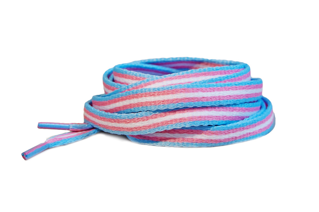 wear your pride socks transgender shoe laces and let everyone you know you are an ally or support trans rights.