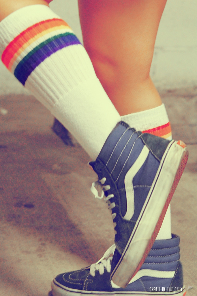 vans and pride socks go hand and hand