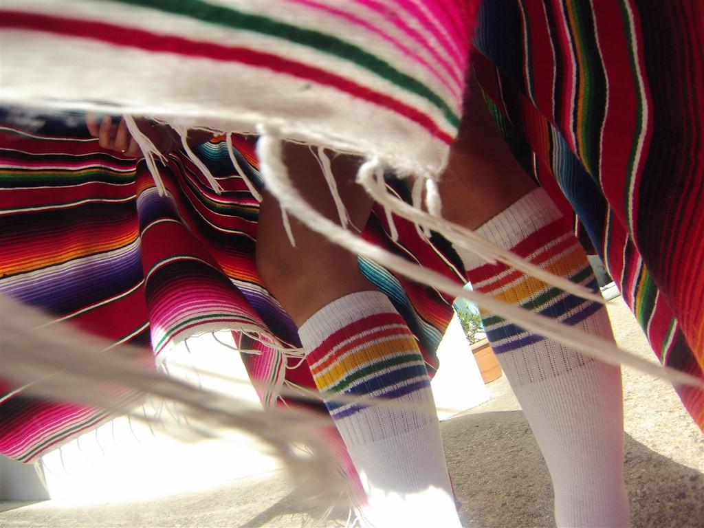 dancing in my pride socks