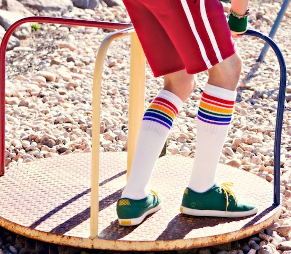 go outside and play in your pride socks