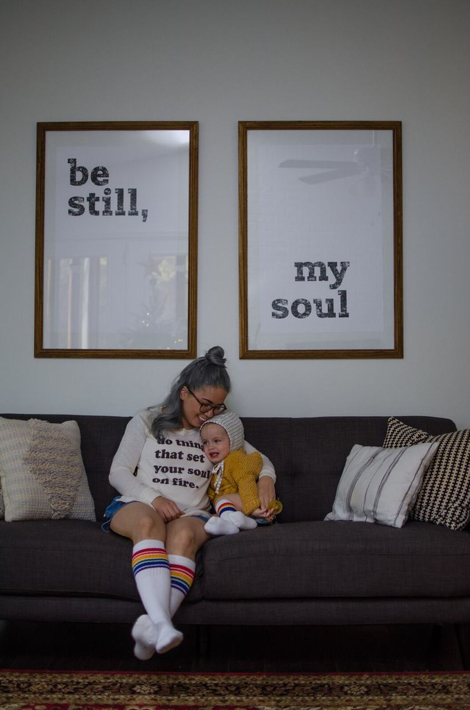 be still my baby love.  momma loves you and proud of you.  love matching our pride socks