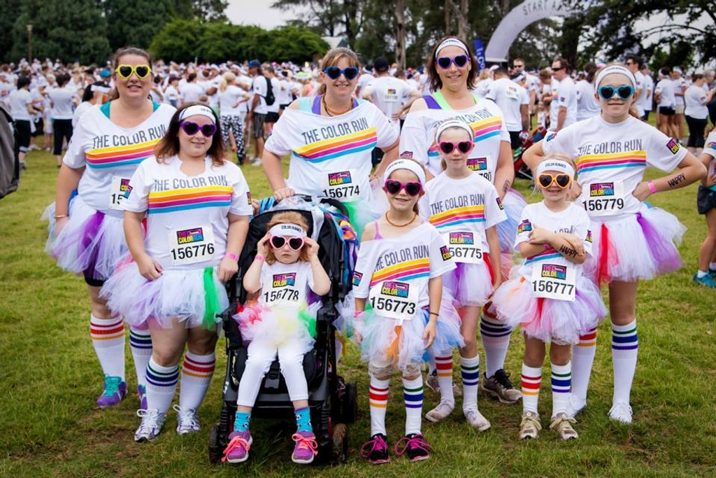 whatever the fun run you are running, we have the retro pride tube socks for you.