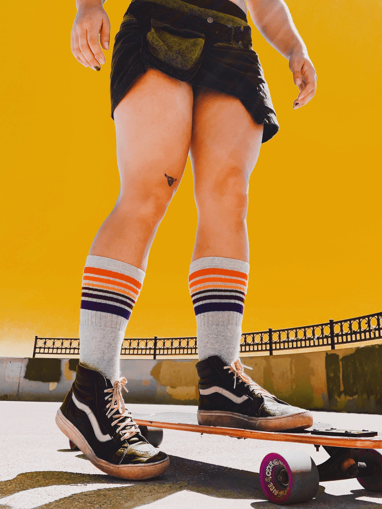 skate with your pride socks and live life to the fullest.