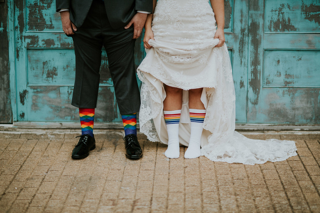 get married to your best friend in your best prides socks