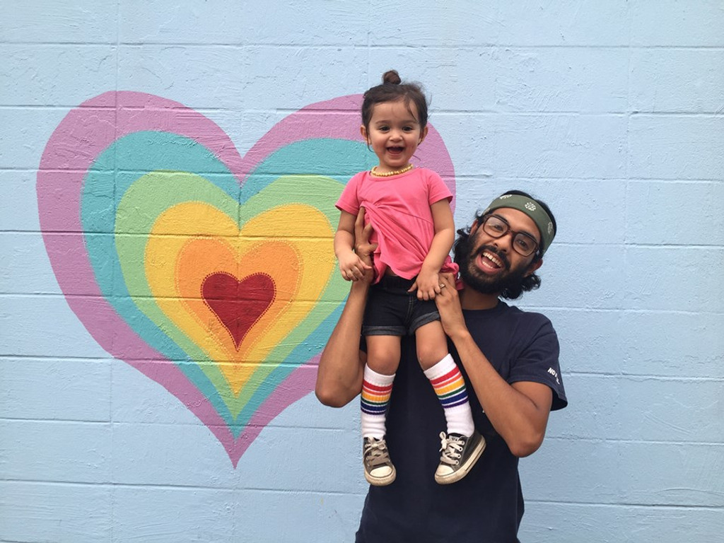 i love my dad with all my heart.  i also love my pride socks.