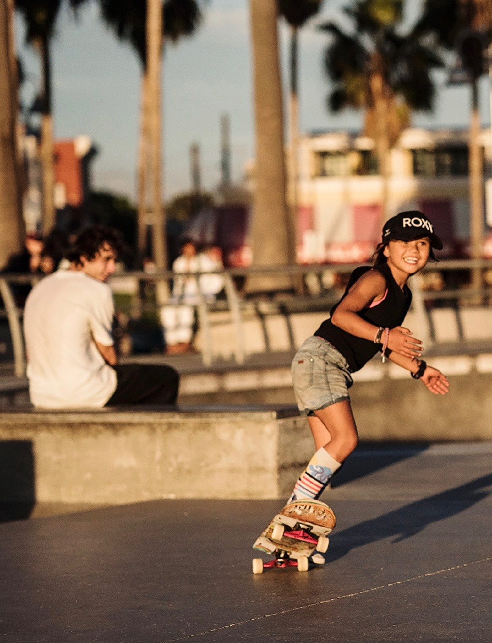 a93eab897f3 always happy when sky brown skates while wearing her skys the limit pride  socks
