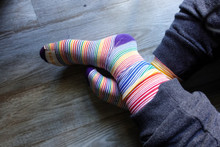 relax while you wear your womens pride socks looking fly.