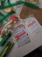 when you pack your kids lunch provide them with a power note from pride socks