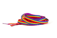 Pride Socks Rainbow Shoelaces