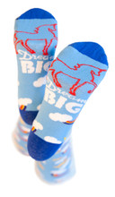 dream big pride socks with unicorn to help those with Down syndrome to attend college.  you've helped pride socks raise over 19k for students with down syndrome to attend college or higher education in austin texas.