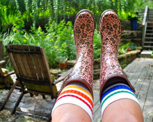 i find myself healing the most when I am outside and rocking my pride socks