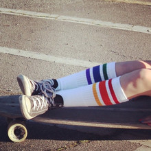 skating and pride socks are my life