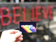 pride socks celebrate you stickers are used to help you know you can live the life you deserver and to believer in you.