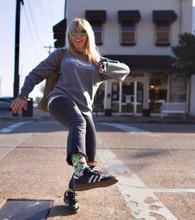 santa claus rainbow socks christmas pride socks