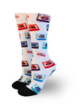 wear your cassette tape pride socks from austin texas to sxsw while you rock out at all the bands you see.