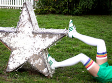 you are a shinning super star when you wear  your pride socks