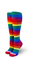 buy your full rainbow gay thigh high pride socks here.