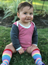 when you put on pride socks kid rainbow socks your toddler will smile