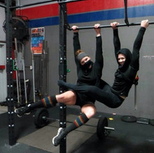 ninjas love their compression pride socks when they crossfit