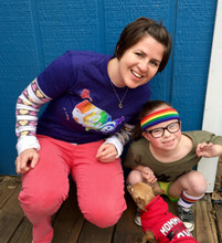 it doesn't matter who you rock your love heals shirt with when you are wearing your pride socks shirt.
