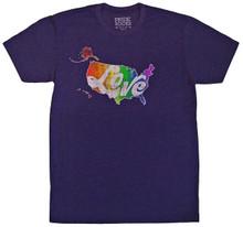 pride socks love heals tshirt