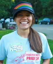 smile all day with your retro pride socks snap back hat