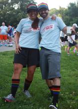 twins rocking their pride socks snap back trucker hat