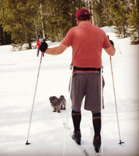 if you cross country ski then our rainbow compression socks are for you. do you wear your pride socks