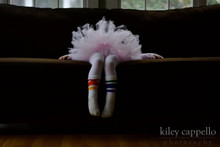 a ballerina with all the courage pride socks in the world.